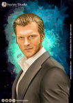 Kivanc Tatlitug Digital Painting by KarimStudio