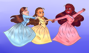 Schuyler Sisters by Alexis-Animator