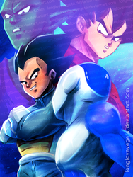 Step Aside, Fools! by longlovevegeta