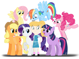 Friendly Ponies - Point Commission by Stargrace97-2
