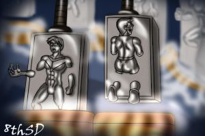 Duke Trade: Carbon Copy Heroes by TheEigthSinDeath