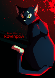 WARRIORS: Fire Alone || Ravenpaw by ColacatintheHat