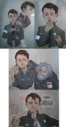 [Detroit: Become Human] Sent by CyberLife by M-F-W
