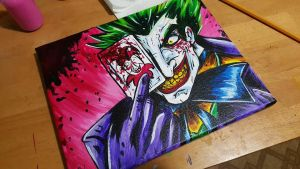 killing joke, joker by gothicsushi