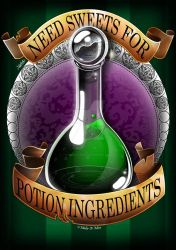 Halloween Potion: Needs Sweets! by Make-It-Mico