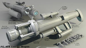 JC 450 Energy Weapon by ttrlabs