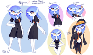 Sylvia Reference Sheet 2018 by BlueMan282