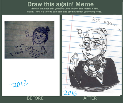 Redraw Meme by otterwolf3