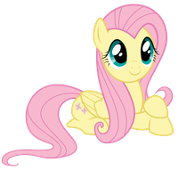 [Vector] Fluttershy ~ Quietly Observing by 2bitmarksman