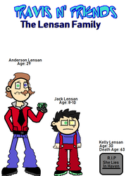 TRAVIS N' FRIENDS - The Lensen Family by NeonSofwareStudios