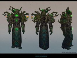 MoP Druid Hunted Forest armor by FirstKeeper