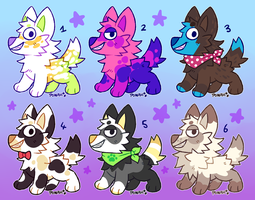 lil pup adopts (OPEN) by Ponacho