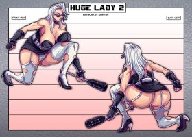 HUGE LADY 2 - Concept  (OC) by Sano-BR