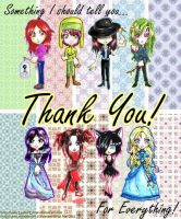 Thank you Everyone Part 1 by Laiden-Cerise