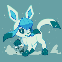 Glaceon by Nokkelborth