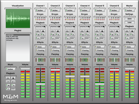 Mixing Device by scoregraphic
