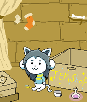 Temmie shop by lolke12