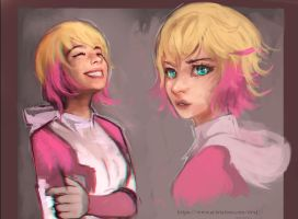 Gwenpool by IntergalacticSalmon