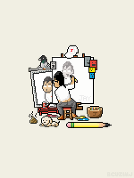 Norman Rockwell by becauseimjay