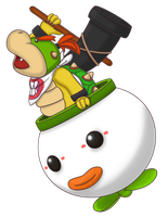 Smash Collab - Bowser Jr by DragonKazooie89
