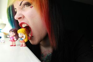 i eat sailor scouts for lunch =] by CupCakeMonsterCrafts
