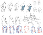 clothes study. by moni158