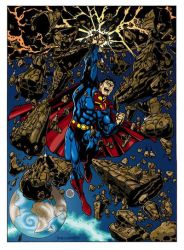 Superman Colore by Schizzofantasy