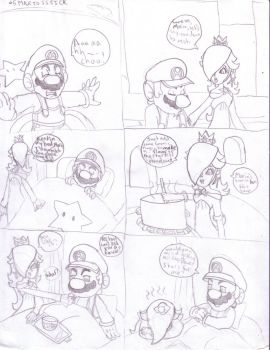 Super Mario Galaxy Comic 5 by StarWolf597