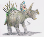 Singing Triceratops by Lord-Triceratops