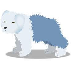 old english sheepdog a by PurpleRat-YS