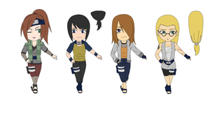Adoptable Ninjas: Female 8 -KONOHA- 1 LEFT by JTDP-Archives