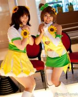 Sunflower Girls by umi