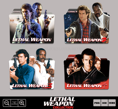 Lethal Weapon Collection Folder Icon Pack by Bl4CKSL4YER