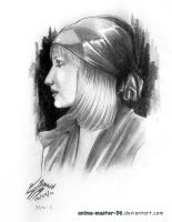 Pencil Portrait by anime-master-96
