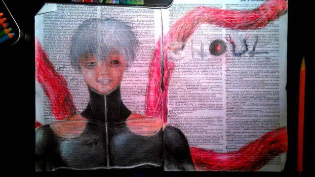 Dictionary art project thing for my school n stuff by DarkCrystal547