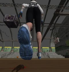 Cassie Cage - Unaware at the Gym 40 by gts69