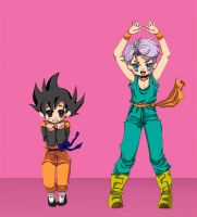 tibi trunks and goten by Natsuhati