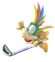 Mario Golf Styled Lemmy Koopa by BowserKoopa99