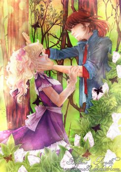 Candy and Terry .:Spring Love:. by Hoshino-Arashi
