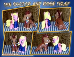 The Doctor and Rose by HeyLookASign