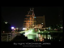Yokohama by night -2- by Lou-NihonWa