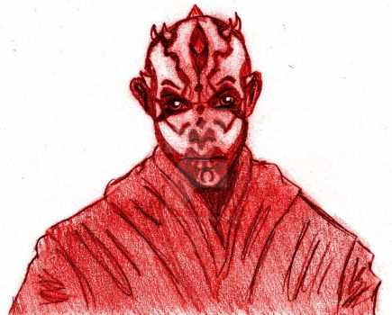 Dark Maul Star Wars by VanitasMundi