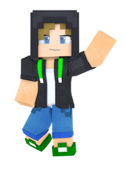 Me in Minecraft Style by Endlesshunter