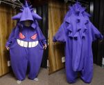 Gengar kigurumi by Koreena