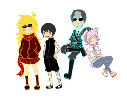 SoulEater-Somewhat Kids :D by KirscheAnder