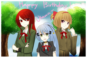 Happy Birthday Utawa by Usu-mi