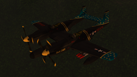 Daz Caparros P 82 Twin Mustang Night Prowl 2 by anthsco