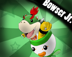 Bowser Junior by Rotommowtom