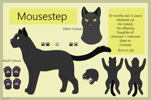 Mousestep Reference Sheet - Offical by TACOBELLABAE