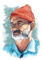 Bill Murray - Life Aquatic by IgnacioRC